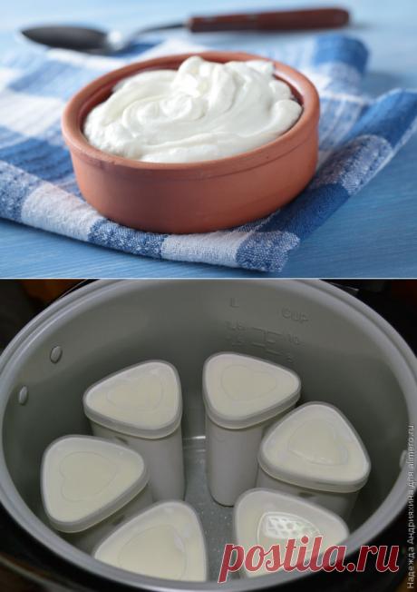 El yogurt por Dyukanu en la multicocción de Aktivii klub Vivanda.ru ⋆