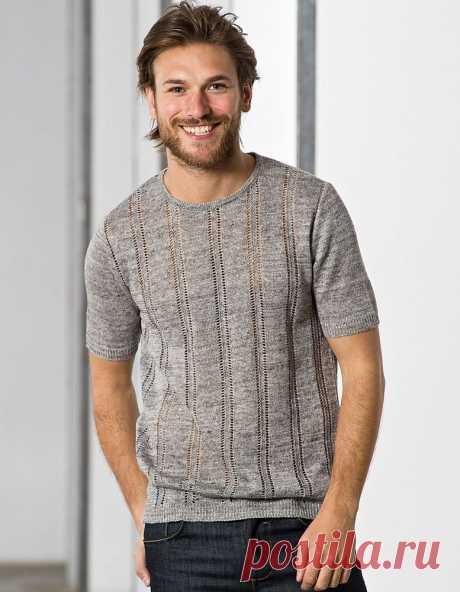 Вязание: идеи для мужской рубашки на лето | Журнал Ярмарки Мастеров