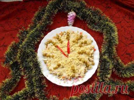 """La ensalada \""""Sin Cinco minutos Doce\"""" - las recetas Simples Овкусе.ру"""