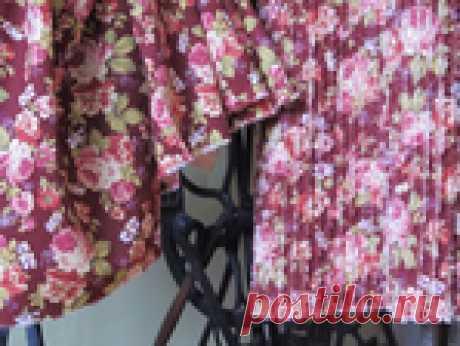 Шьем юбку по косой в технике синель. Мастер-класс