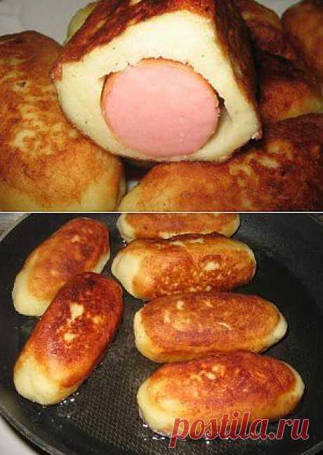 Сосиски в картофельной шубке . Как приготовить Сосиски в картофельной шубке . Рецепты от Вернера - как приготовить, кулинарные рецепты, кулинария, рецепты с фото.