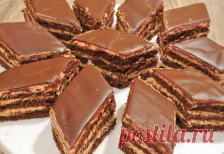 Рецепт нежнейшего торт-пирожного с потрясающим кремом Это не просто пирожные. Это настоящее райское наслаждение! Феерия вкуса!
