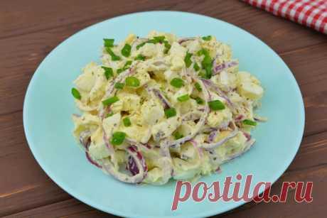 """Салат """"Чиполлино"""" - быстро, просто и вкусно."""