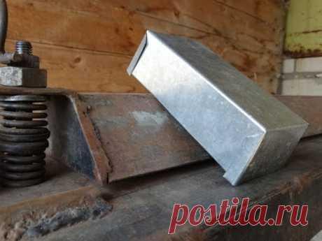 Листогиб самодельный коробку гнёт / Листогиб Горячий Мастер