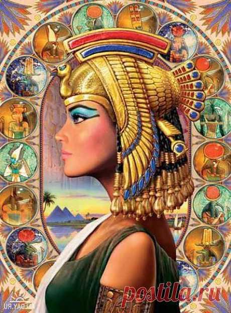 Декоративная Косметика»  была «изобретена» более 2 000 лет назад