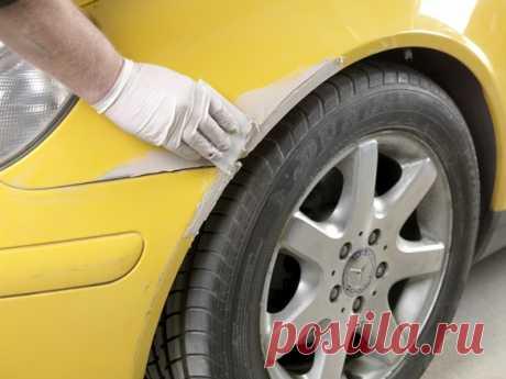 Покраска крыла автомобиля своими руками – пошаговая инструкция