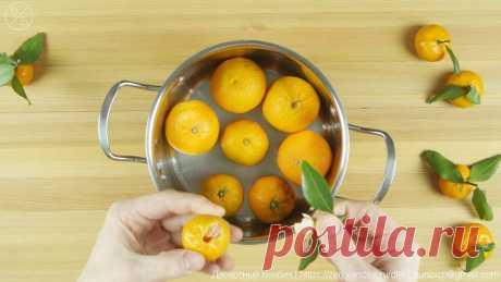 Как я готовлю джем из мандаринов с кожурой. Делюсь необычным рецептом 🍊🎄🍊 | Десертный Бунбич | Яндекс Дзен