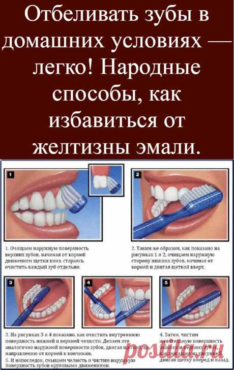 It is easy to bleach teeth in house conditions! National ways how to get rid of yellowness of enamel.