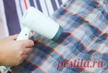 Как погладить без утюга вещи быстро феном – пошаговая инструкция
