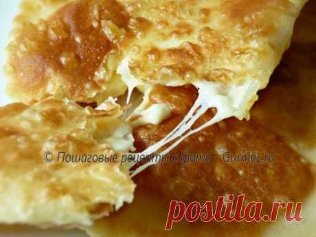 Чебуреки с сыром. Рецепт с фото. Пошаговые фотографии. Gurmel