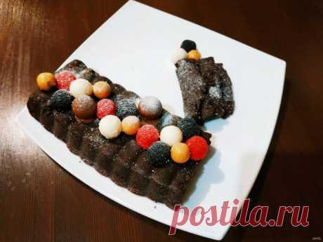 Шоколадный террин
