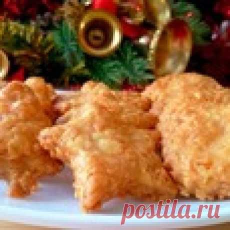 Острые сырные крекеры Кулинарный рецепт