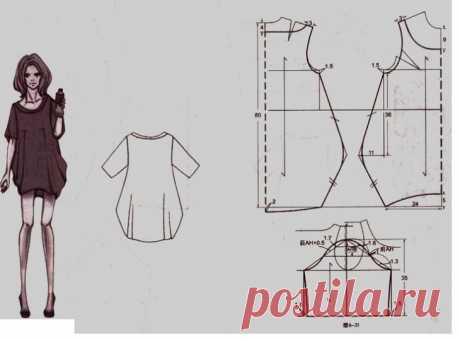 Bokho style the hands for full: patterns of a skirt, dresses, sundresses, tunics, trousers, blouse, cardigan