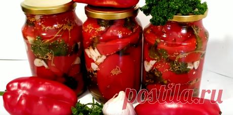 Болгарский перец, высшего качества кисло-сладкий маринад и положительные эмоции от поедания обеспечены! | Огород на 6 сотках | Яндекс Дзен