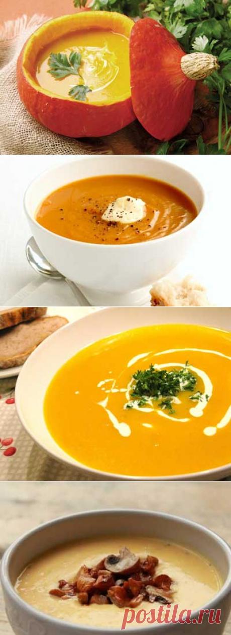Суп из тыквы: лакомые рецепты.