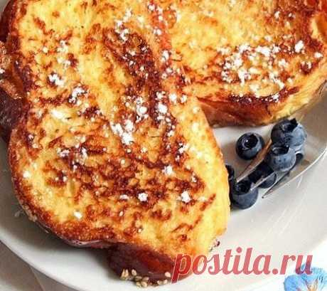 Французский завтрак рецепт