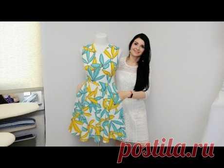 Легкое платье из льна. Сарафан из льна. Влог