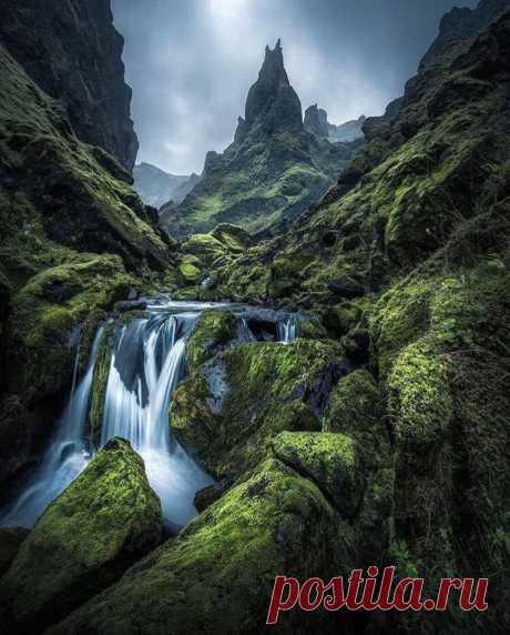 Исландия такая волшебная 😍💚