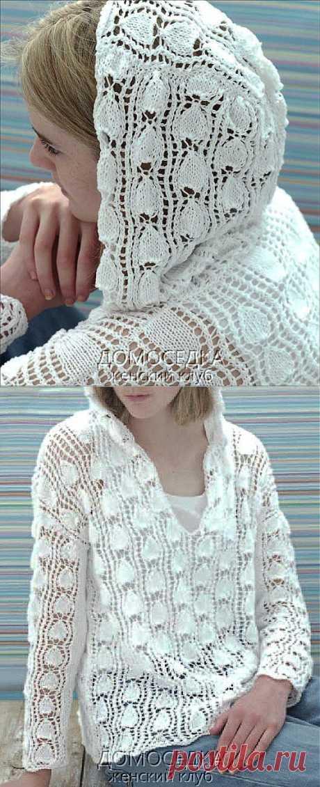 Пуловер с капюшоном | ДОМОСЕДКА