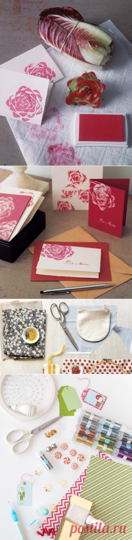 Rosy Stationery   Martha Stewart
