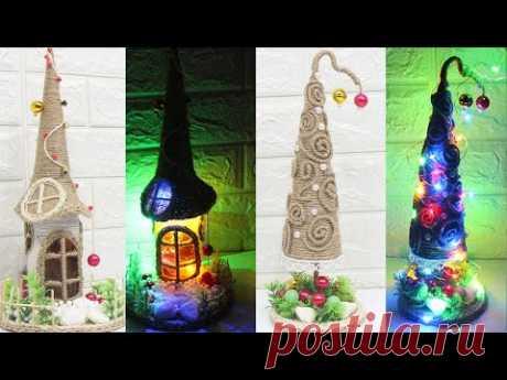 5 Jute craft ideas | Christmas decoration ideas | Home decorating idea