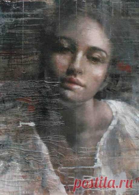 ...Всех героинь шекспировских трагедий                                 Я вижу в Вас...  Вас, юная трагическая леди,                      Никто не спас!..