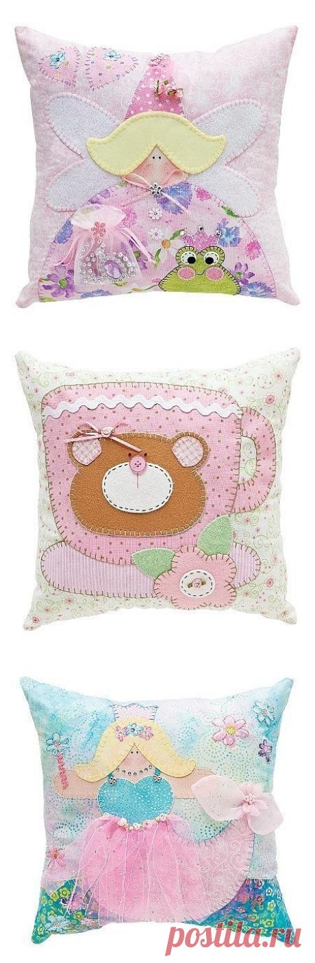 Идеи декоративных подушек в детскую: идеи — Сделай сам, идеи для творчества - DIY Ideas