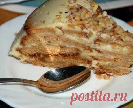 """Тортик-десерт  без выпечки """"Холодный"""""""