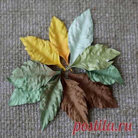 Как сделать листья своими руками? Схемы листьев. Описания. Мастер-классы