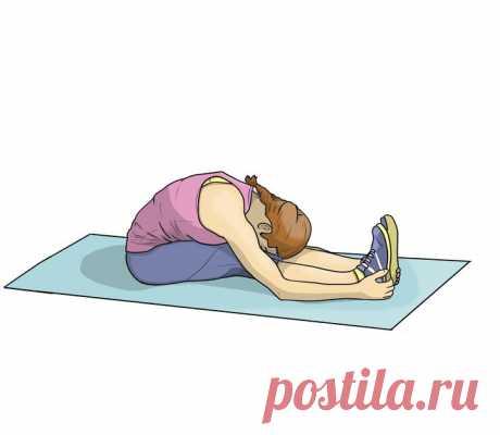 8 упражнений на растяжку, чтобы эффективно прокачать все тело | Диеты со всего света