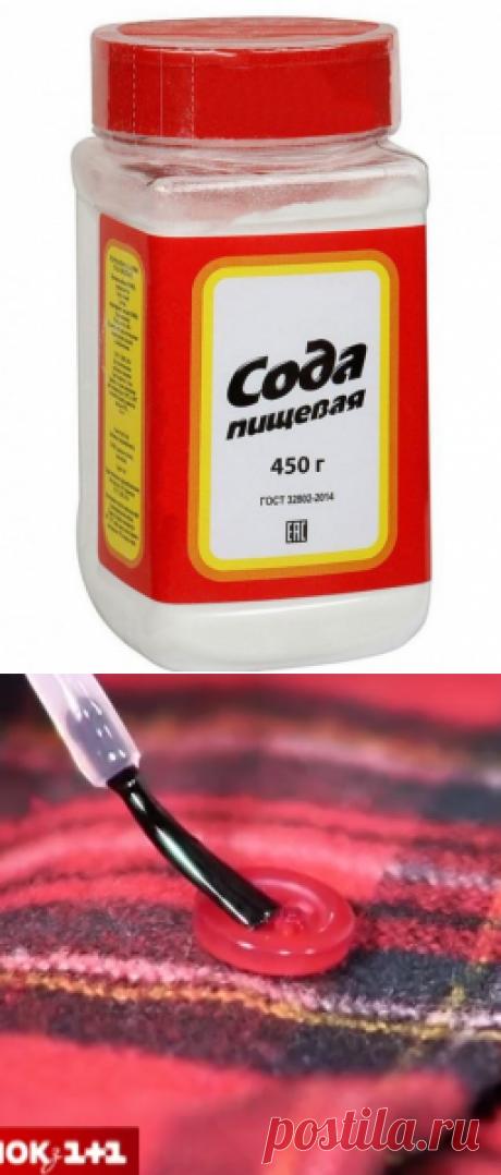 Сода на службе красоты