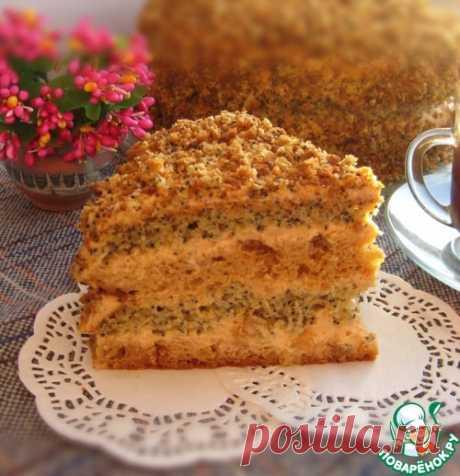 """Торт """"Татьянин день"""" – кулинарный рецепт"""