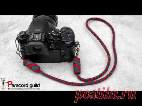 Плетеный ремешок для камеры