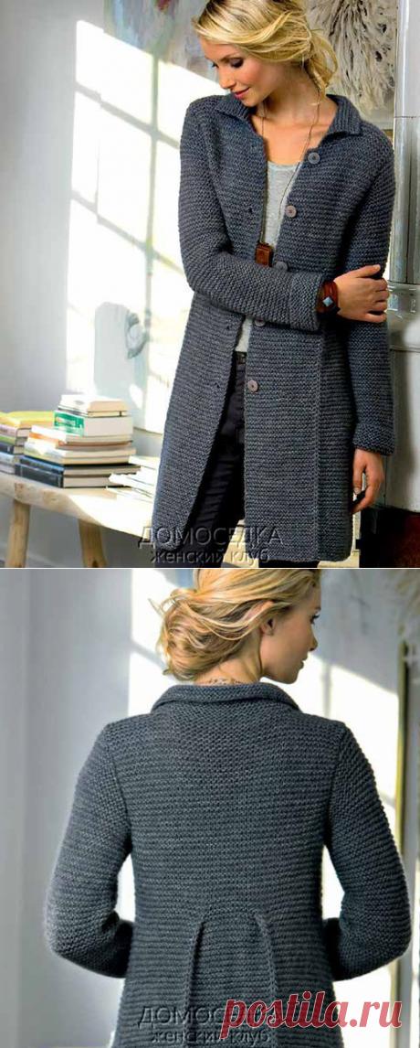 Хит осени 2016 - Стильное вязаное пальто