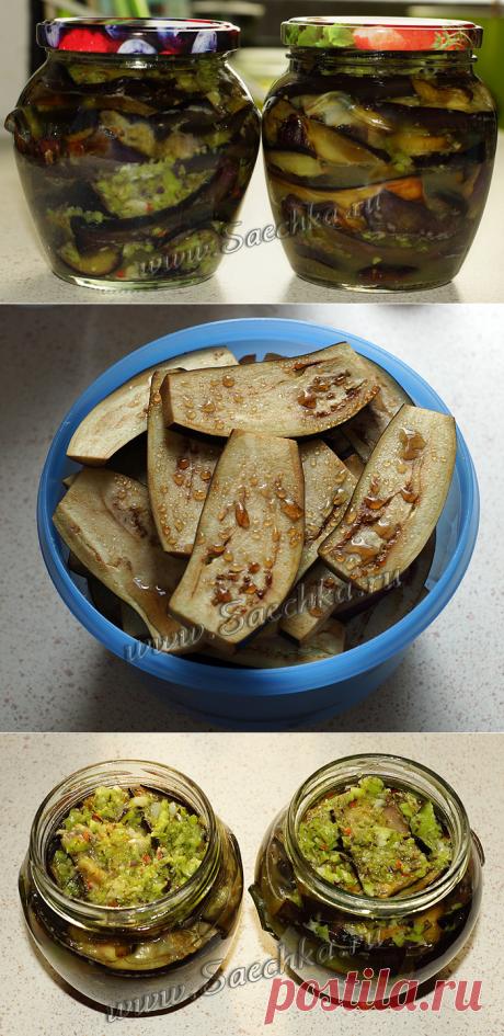 Баклажаны с острой приправой - рецепт с фото пошагово