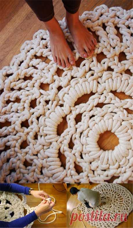 Knitting Rug