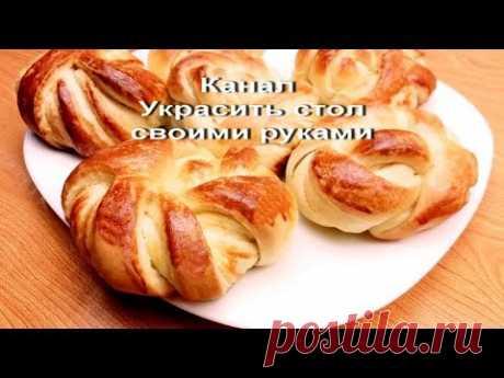 Домашние булочки,мягкие,вкусные. Простой рецепт, Без Всякой Возни