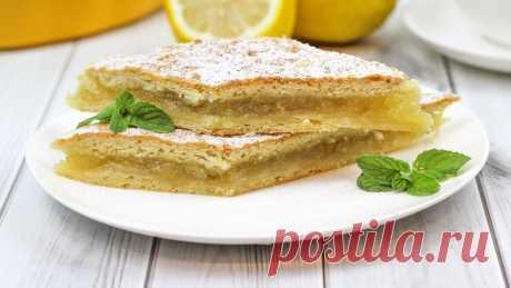 🍋 Лимонный Пирог или Лимонник (Лучший рецепт! Вы удивитесь как вкусно!!)   Домашние рецепты с Любовью   Яндекс Дзен