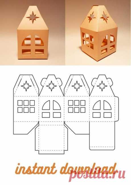 House box, house gift box, christmas box, christmas gift box, christmas house box, new year box, new year gift box, house box template, house gift box template, christmas box template, christmas gift…