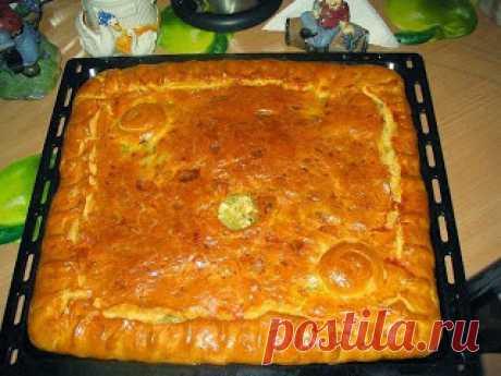 Самые вкусные рецепты: Любимый бабушкин курник
