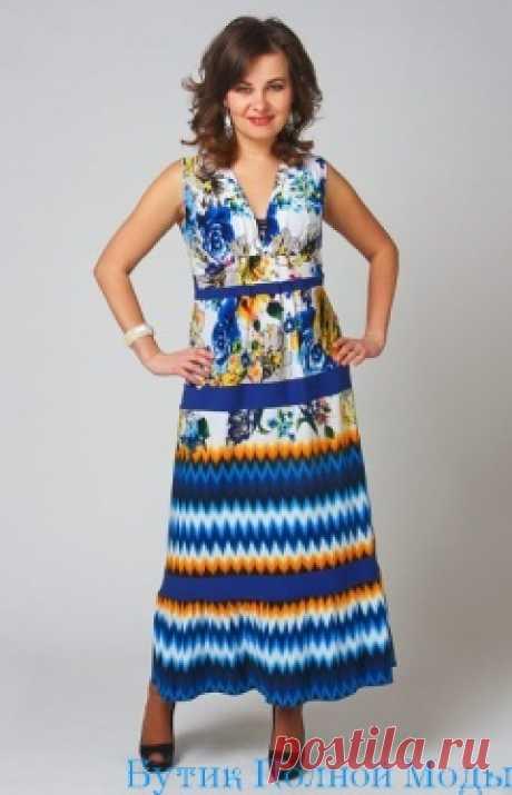 Женские сарафаны больших размеров для полных женщин и девушек