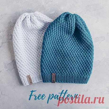 Шапочка для мальчика спицами — Красивое вязание