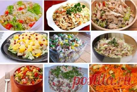 9 вкуснейших салатов на каждый день! — Лайм