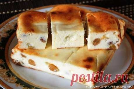 Extremely tasty cottage cheese casserole