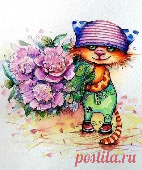 ༺🌸༻Постигшие бессмысленность печалей растят цветы и не считают дни... ©