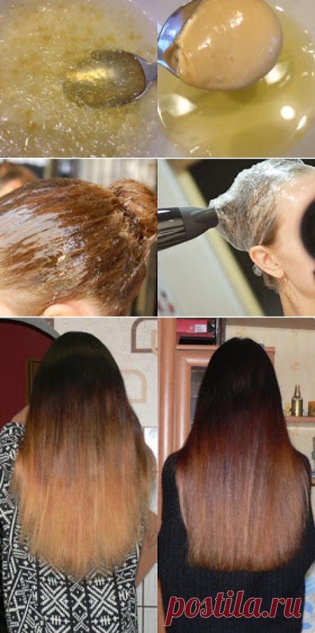 Ламинирование волос в домашних условиях   Грошовое средство, а эффект как после салона!