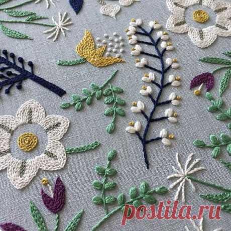 Идеи вышивки — Сделай сам, идеи для творчества - DIY Ideas