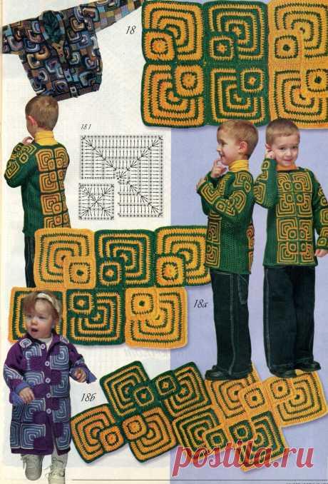 Плотные квадраты – ярко, стильно, весело.