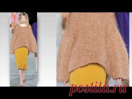 Pletena moda.Стильные фишки вязаной моды 2019г #2 - YouTube