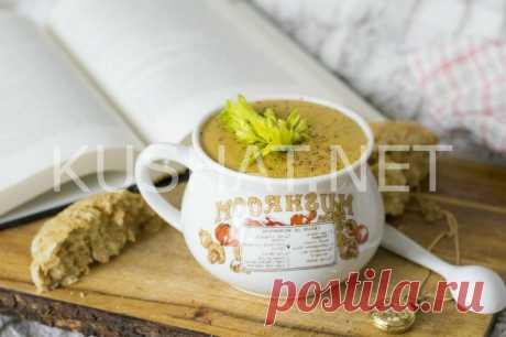 Тыквенный суп-пюре с сельдереем. Рецепт с фото • Кушать нет